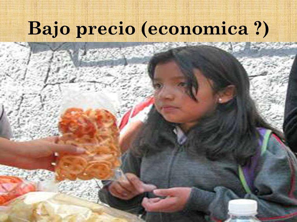 Bajo precio (economica )