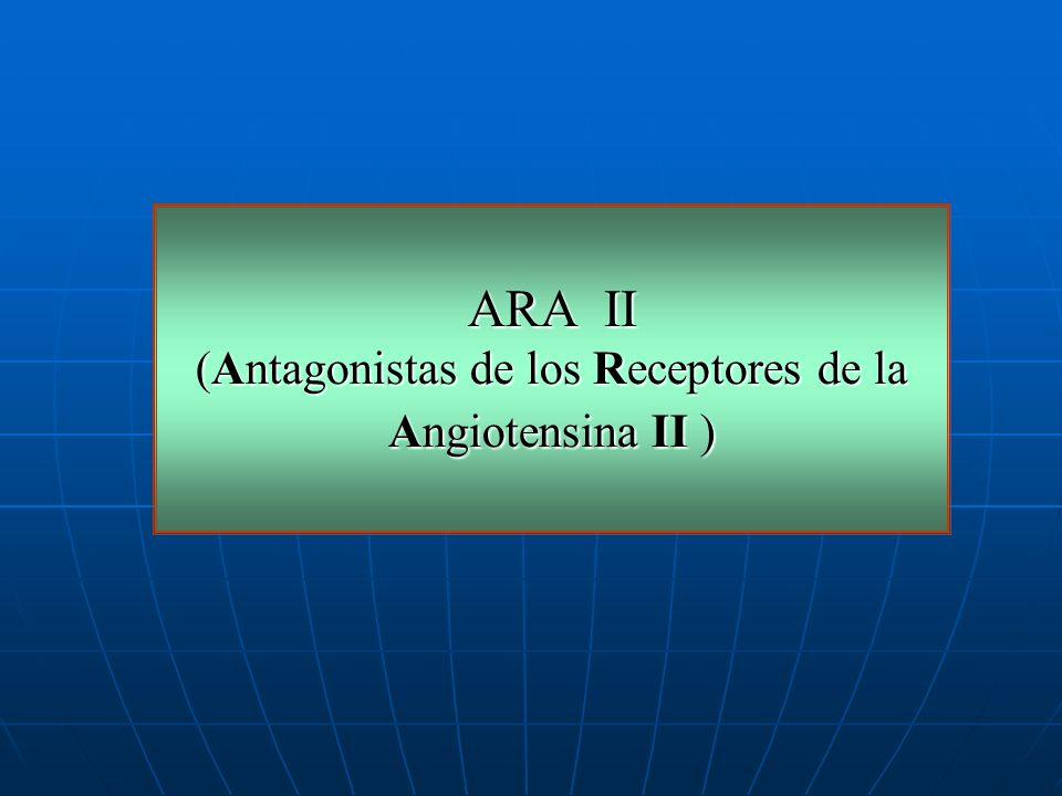 (Antagonistas de los Receptores de la Angiotensina II )