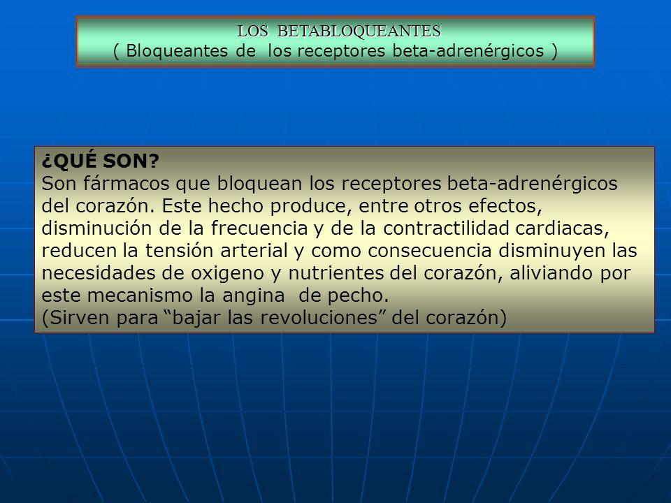 ( Bloqueantes de los receptores beta-adrenérgicos )