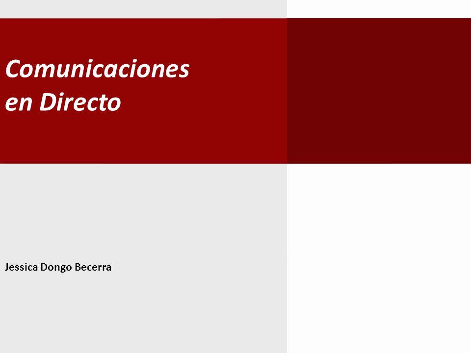 Comunicaciones en Directo