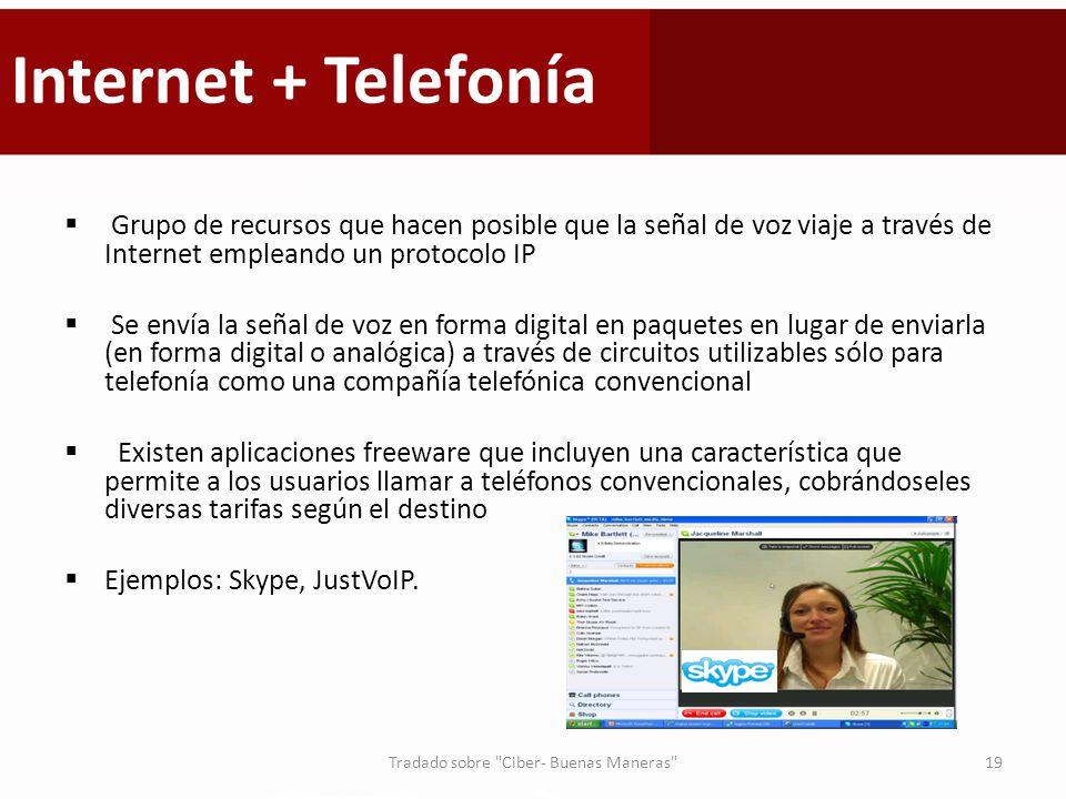 Tradado sobre Ciber- Buenas Maneras