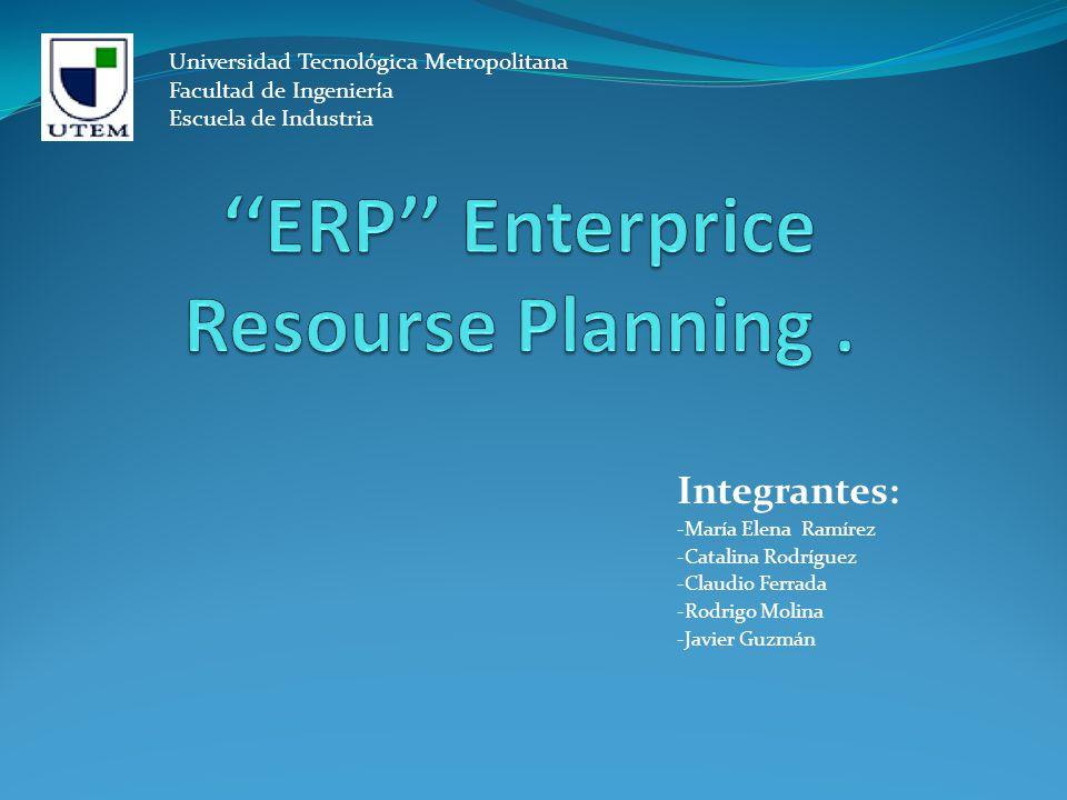 ''ERP'' Enterprice Resourse Planning .