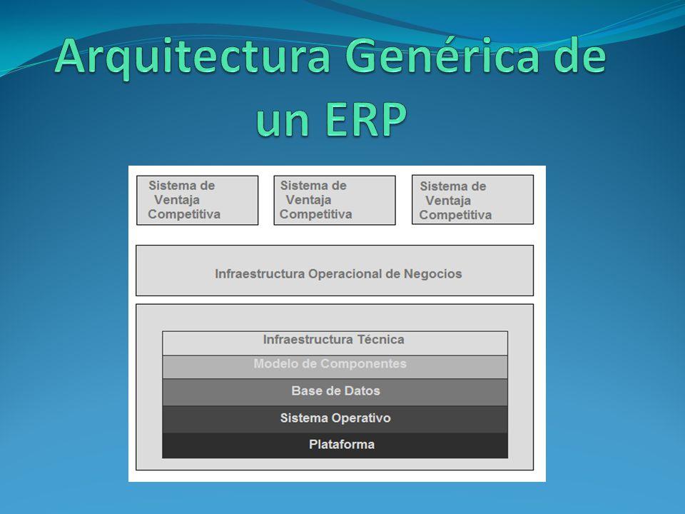 Arquitectura Genérica de un ERP