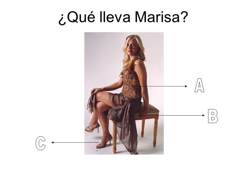 ¿Qué lleva Marisa A B C