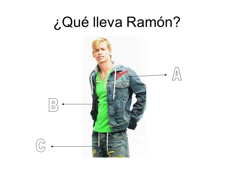 ¿Qué lleva Ramón A B C