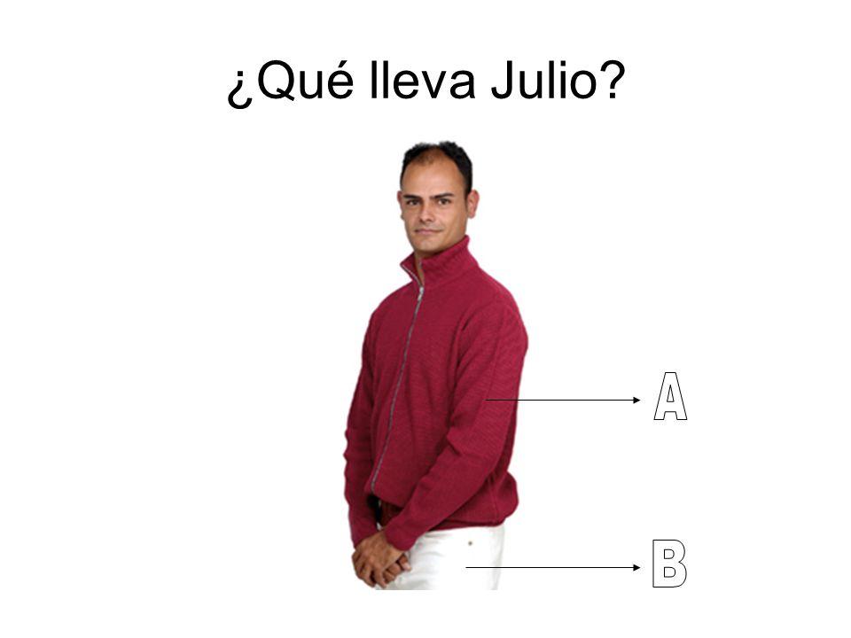 ¿Qué lleva Julio A B
