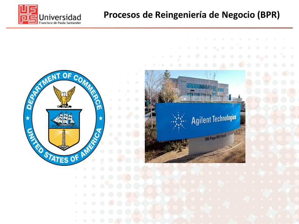 Procesos de Reingeniería de Negocio (BPR)