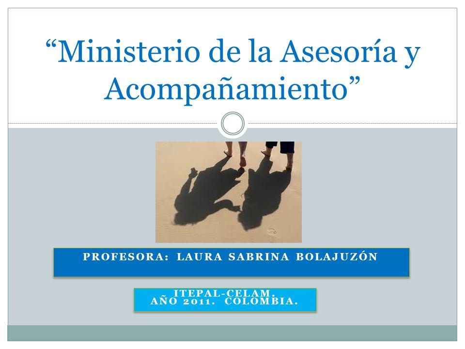 Ministerio de la Asesoría y Acompañamiento