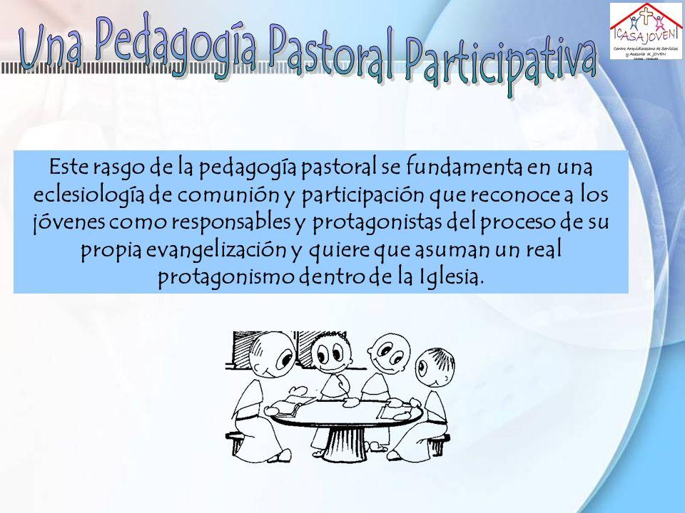 Una Pedagogía Pastoral Participativa