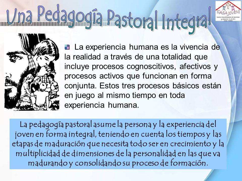 Una Pedagogía Pastoral Integral