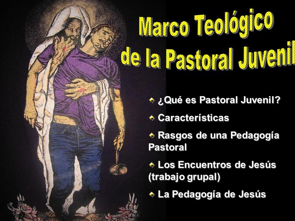 Marco Teológico de la Pastoral Juvenil ¿Qué es Pastoral Juvenil