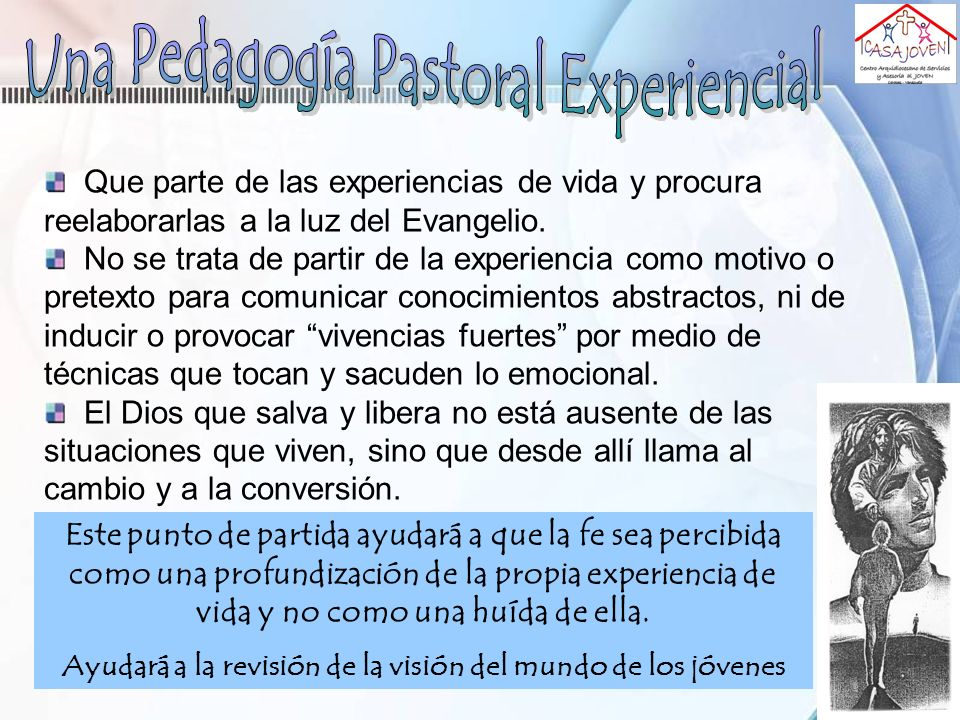 Una Pedagogía Pastoral Experiencial