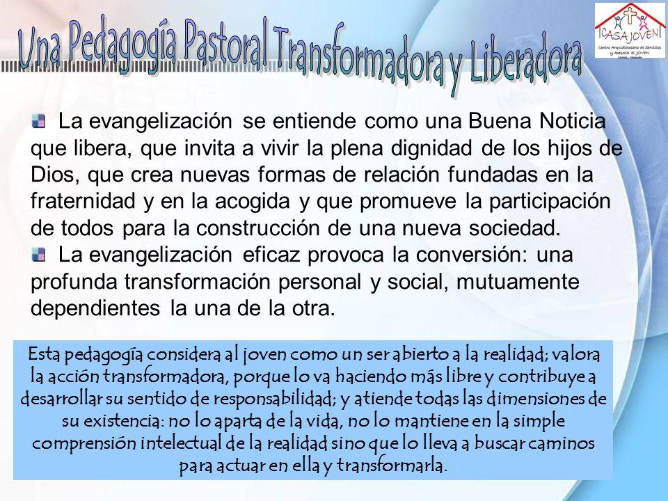 Una Pedagogía Pastoral Transformadora y Liberadora