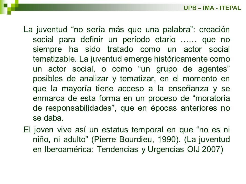 UPB – IMA - ITEPAL