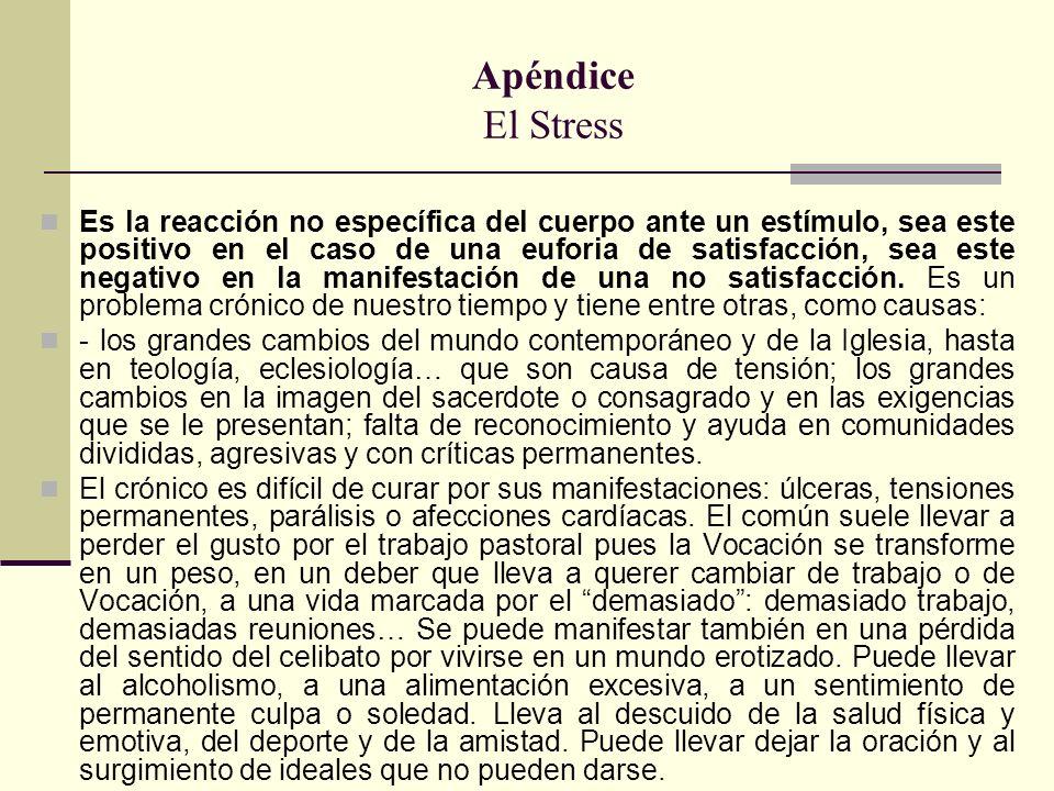 Apéndice El Stress