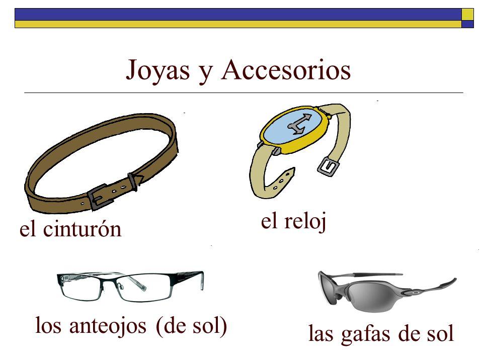 Joyas y Accesorios el reloj el cinturón los anteojos (de sol)