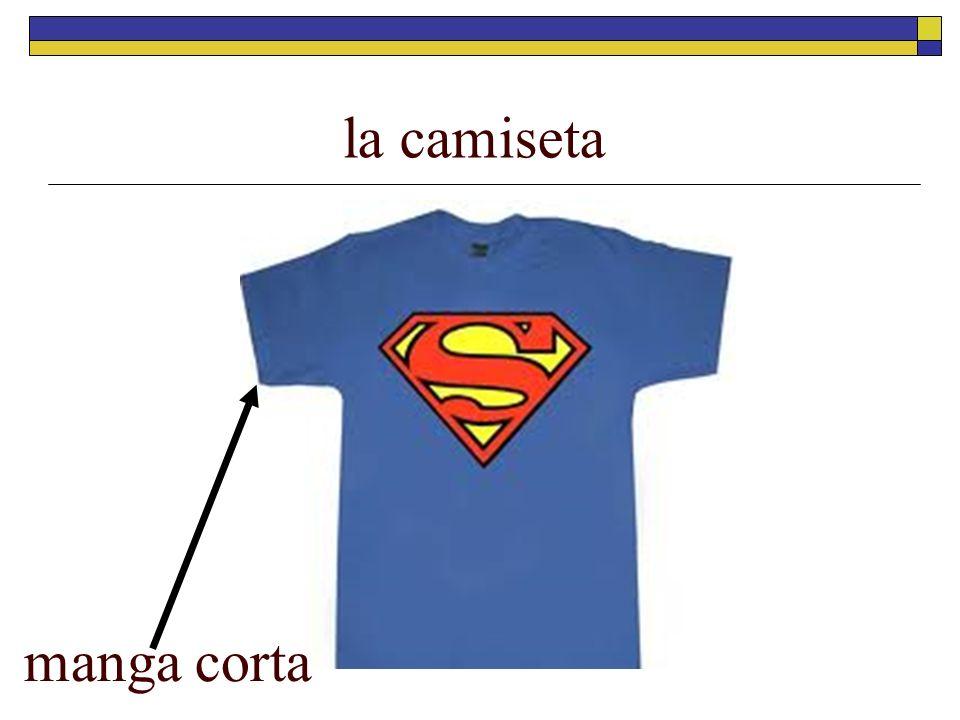 la camiseta manga corta