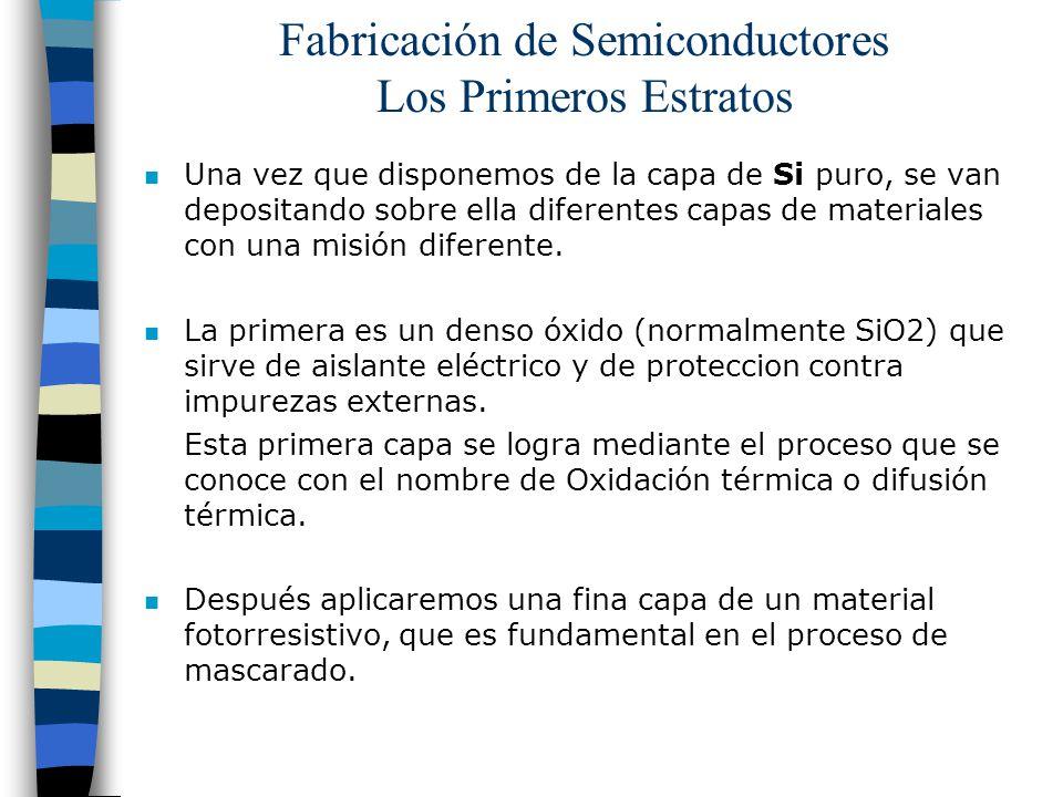Fabricación de Semiconductores Los Primeros Estratos