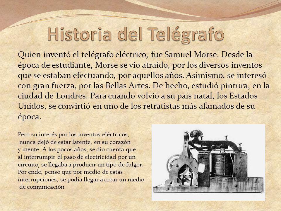 Historia del Telégrafo