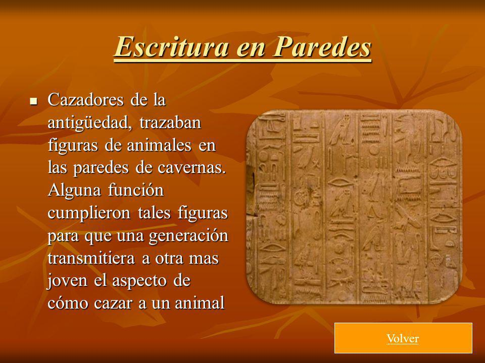 Escritura en Paredes