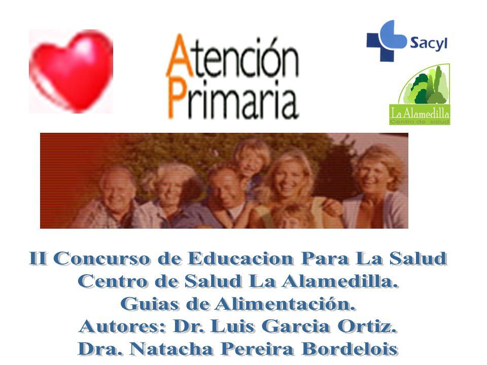 II Concurso de Educacion Para La Salud Centro de Salud La Alamedilla.