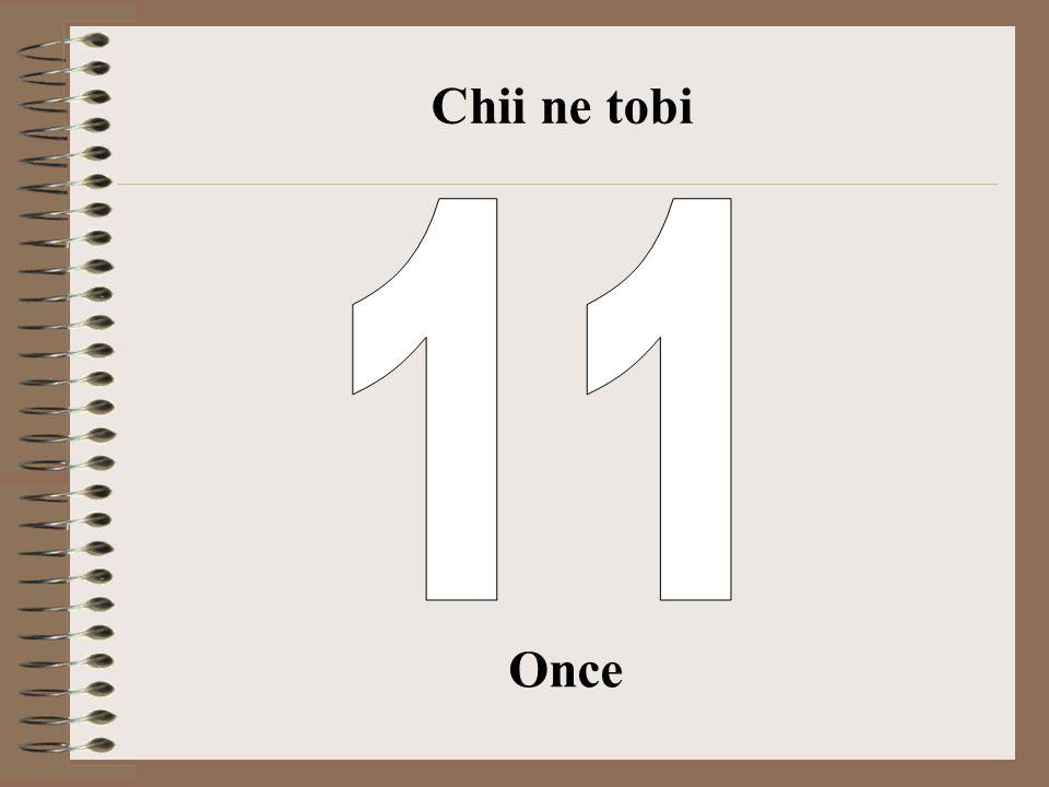 Chii ne tobi 11 Once