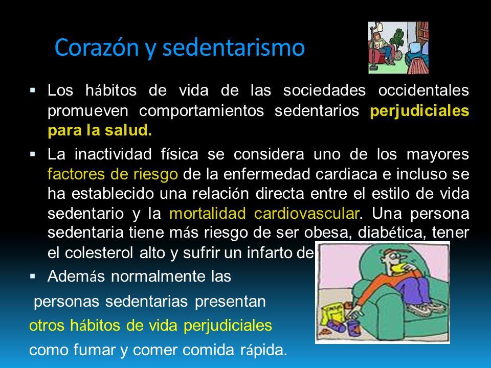 Corazón y sedentarismo