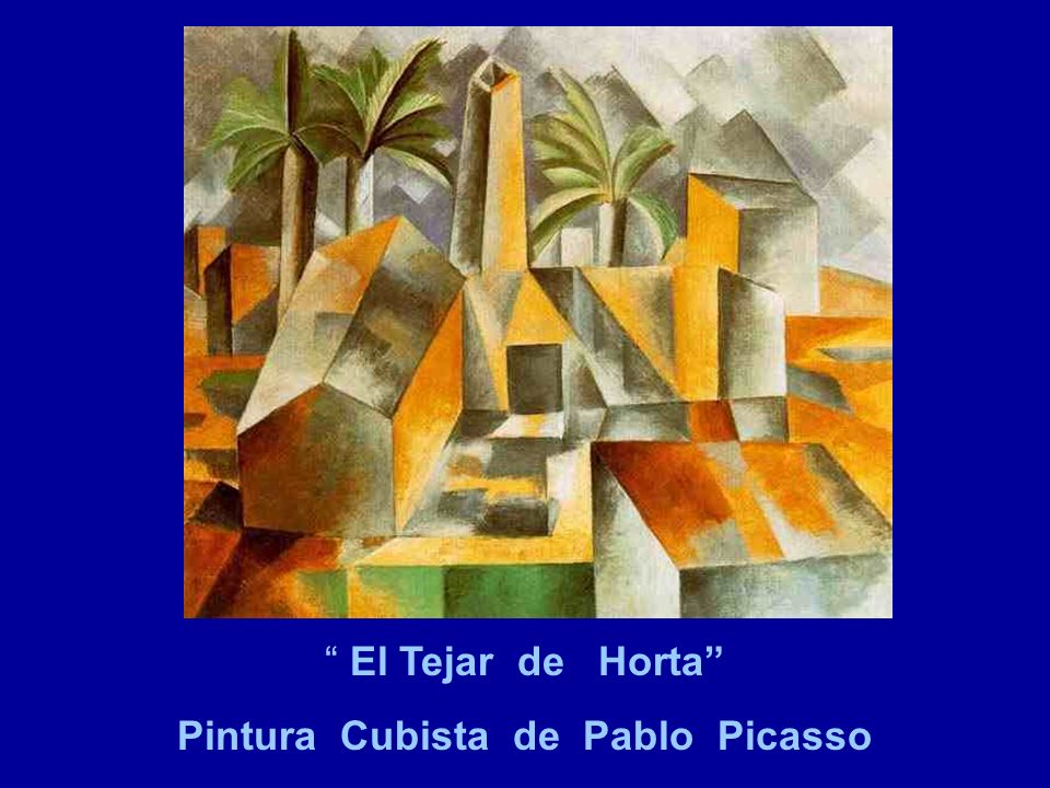 Pintura Cubista de Pablo Picasso
