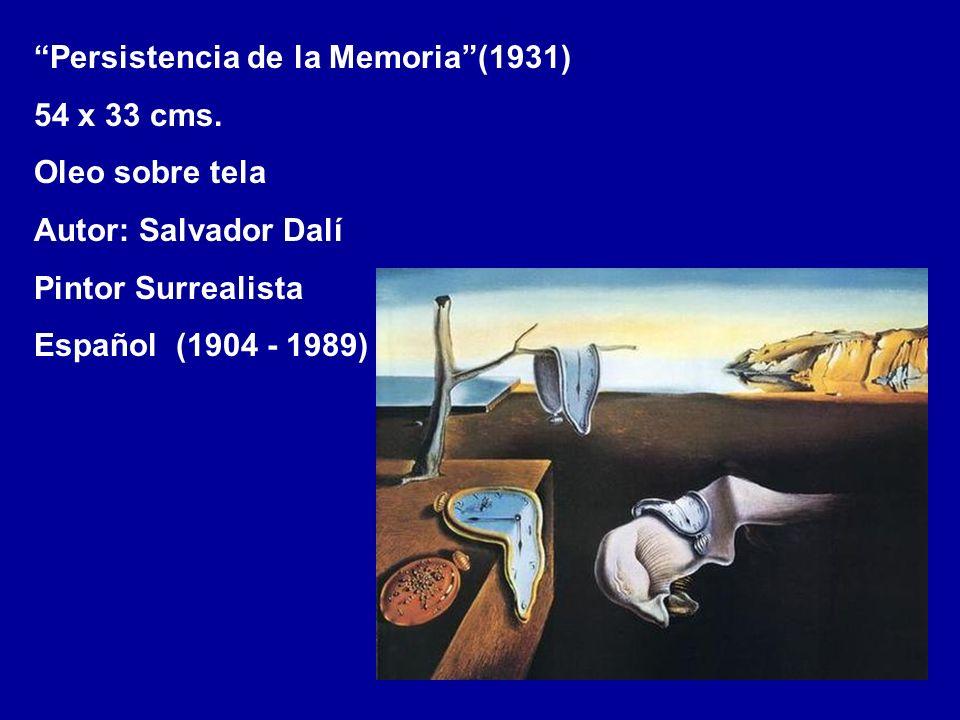Persistencia de la Memoria (1931)
