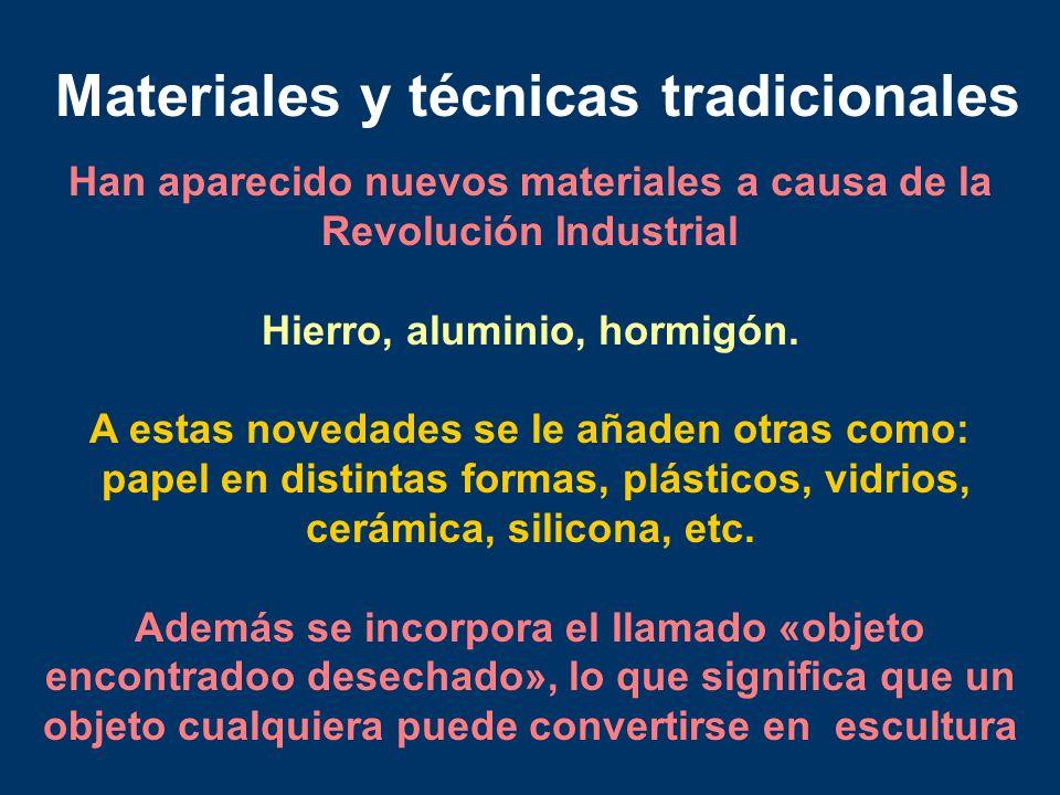 Materiales y técnicas tradicionales