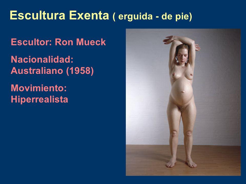 Escultura Exenta ( erguida - de pie)