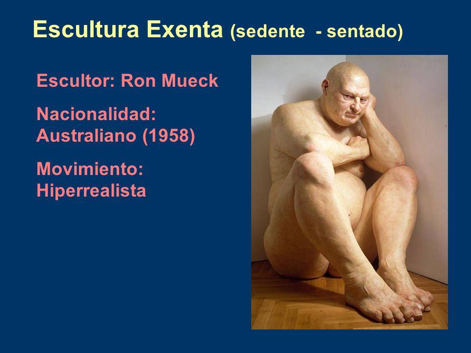 Escultura Exenta (sedente - sentado)