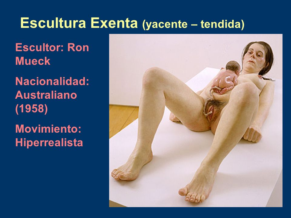 Escultura Exenta (yacente – tendida)