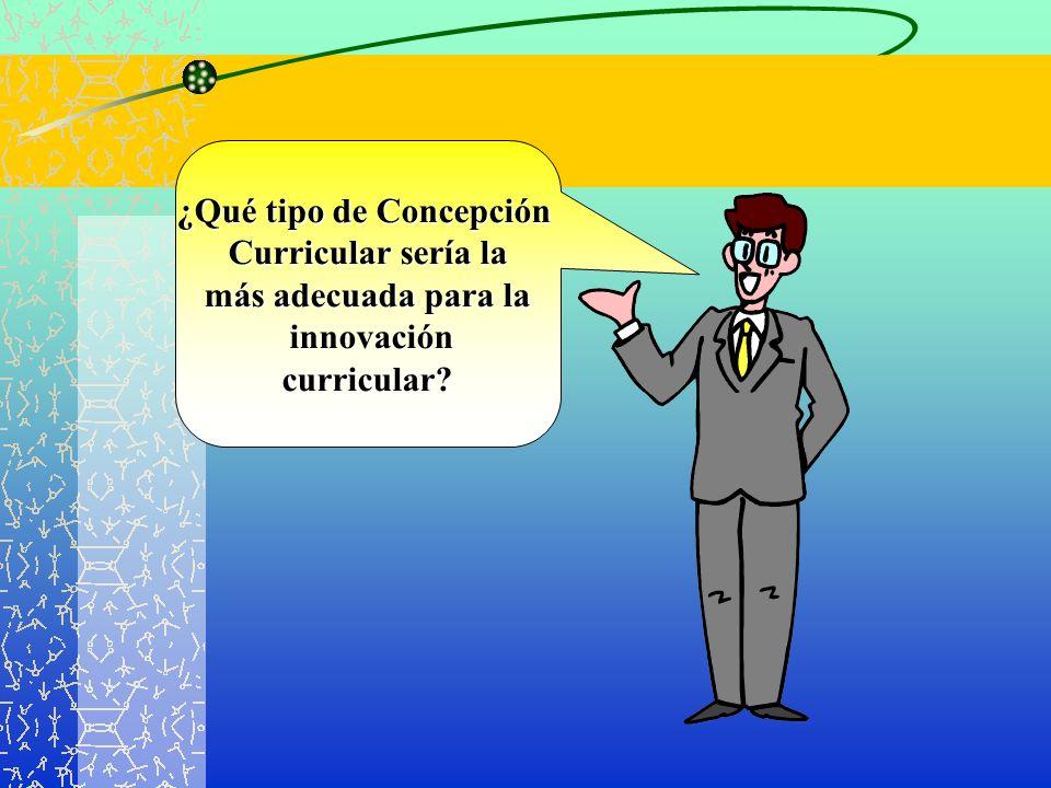 ¿Qué tipo de Concepción