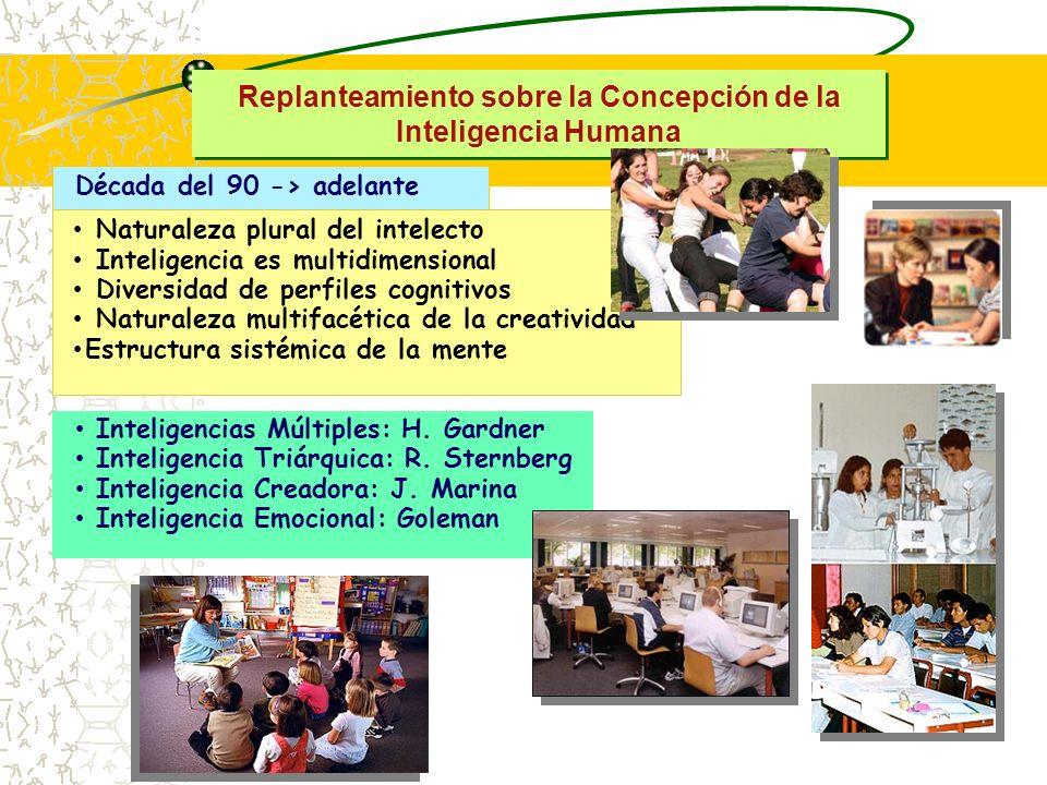 Replanteamiento sobre la Concepción de la Inteligencia Humana