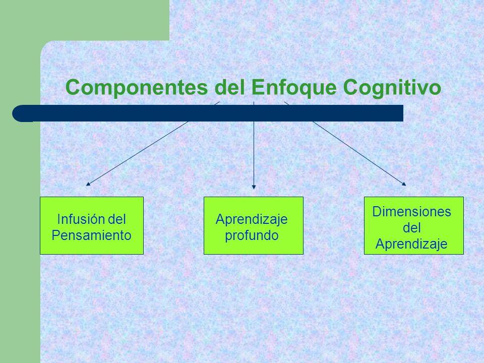 Componentes del Enfoque Cognitivo