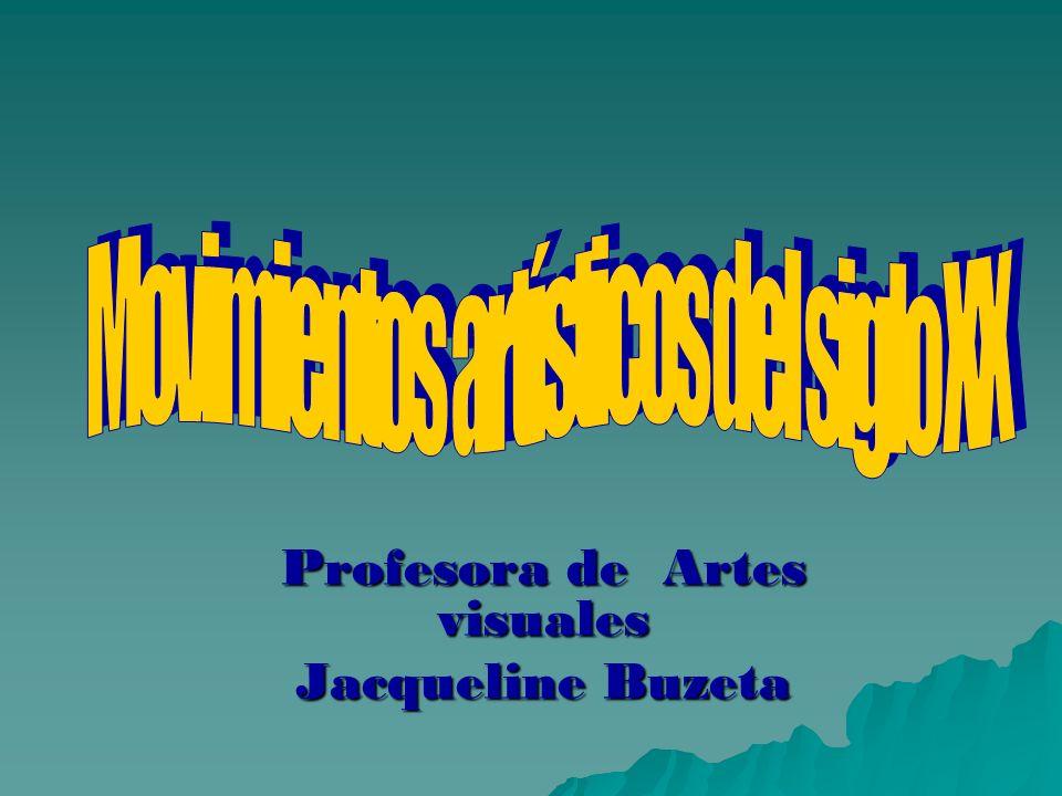 Profesora de Artes visuales Jacqueline Buzeta