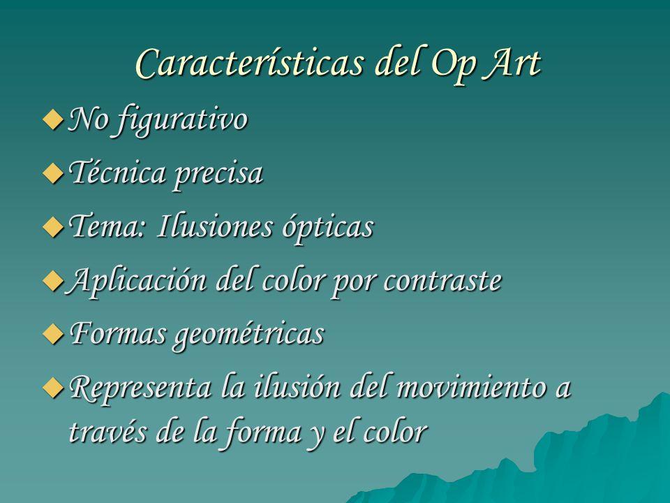 Características del Op Art