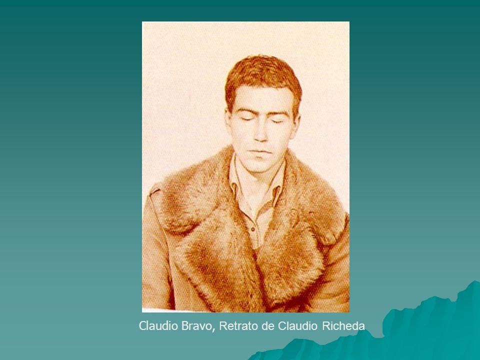 Claudio Bravo, Retrato de Claudio Richeda
