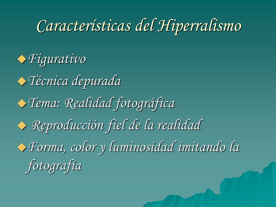 Características del Hiperralismo