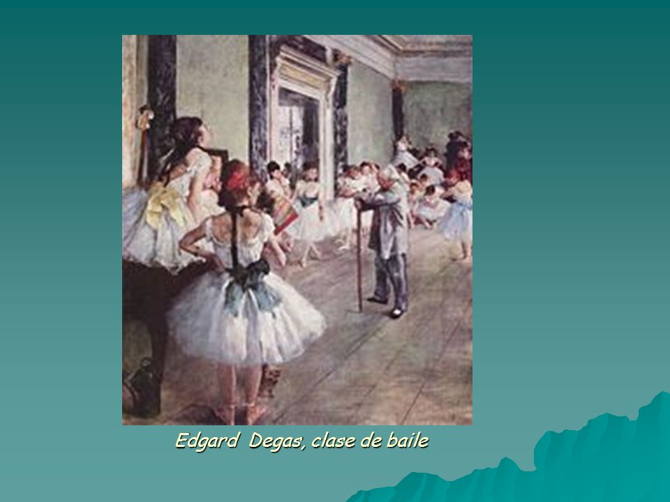 Edgard Degas, clase de baile