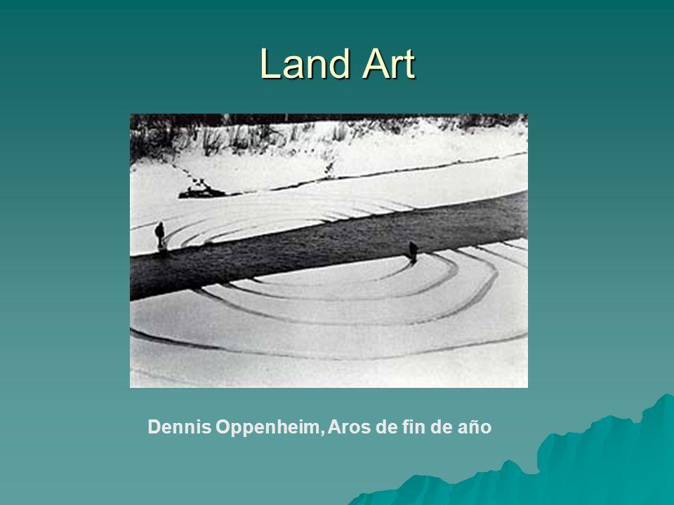 Land Art Dennis Oppenheim, Aros de fin de año