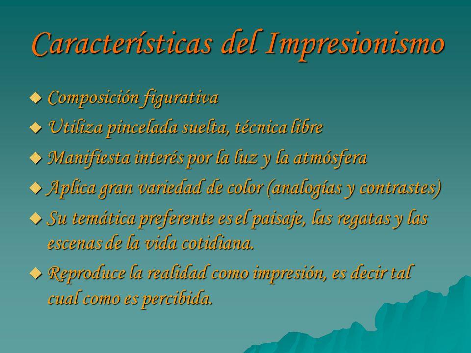 Características del Impresionismo