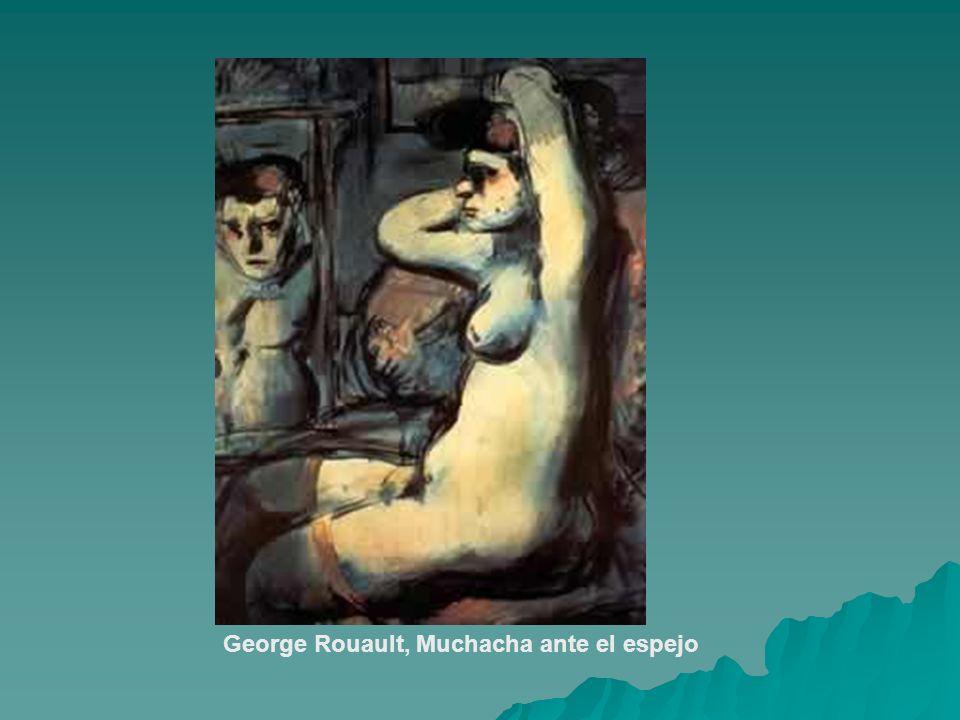 George Rouault, Muchacha ante el espejo