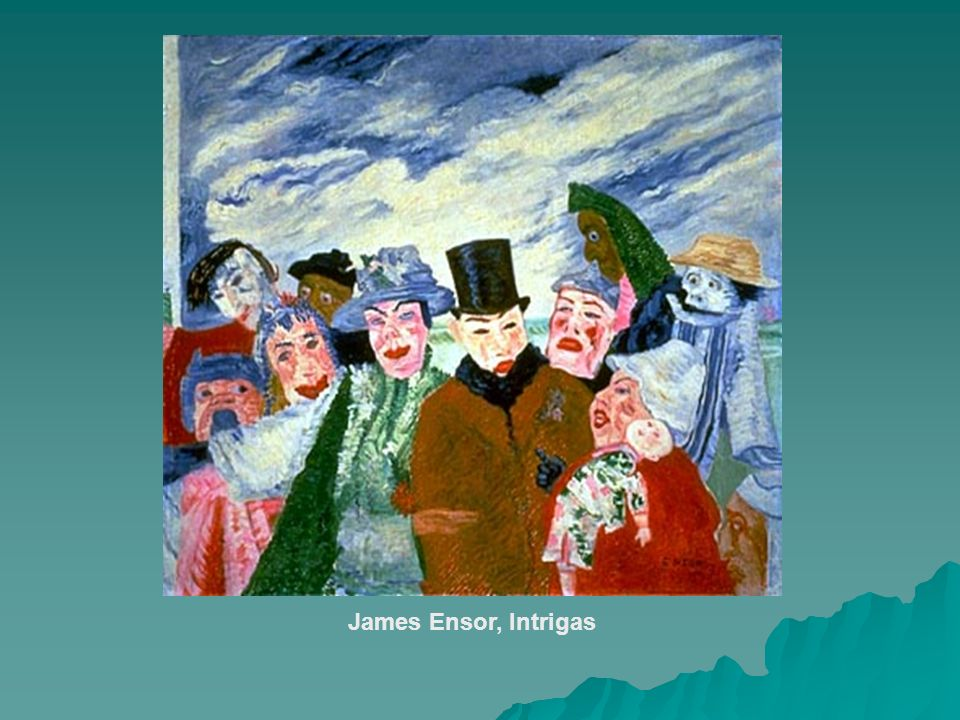 James Ensor, Intrigas
