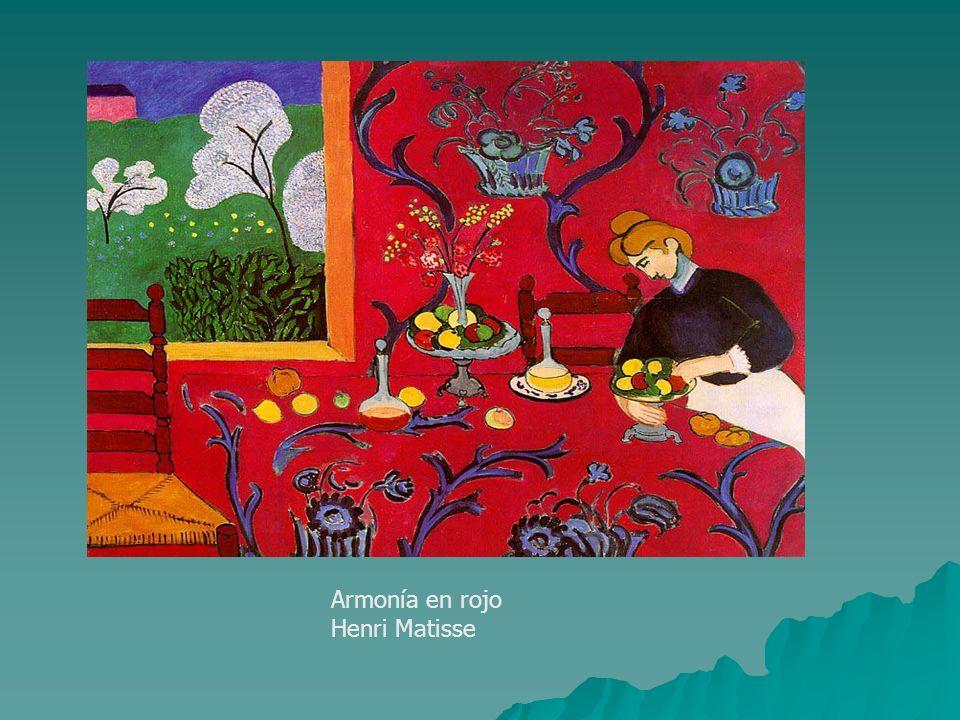 Armonía en rojo Henri Matisse