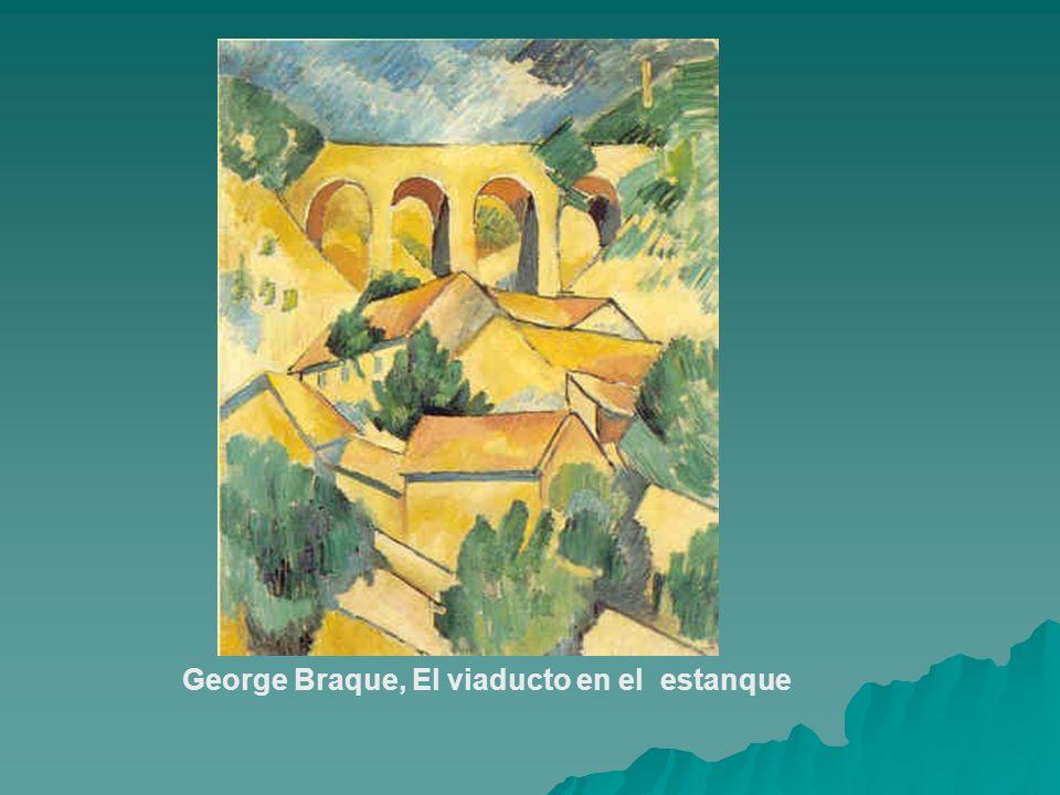 George Braque, El viaducto en el estanque