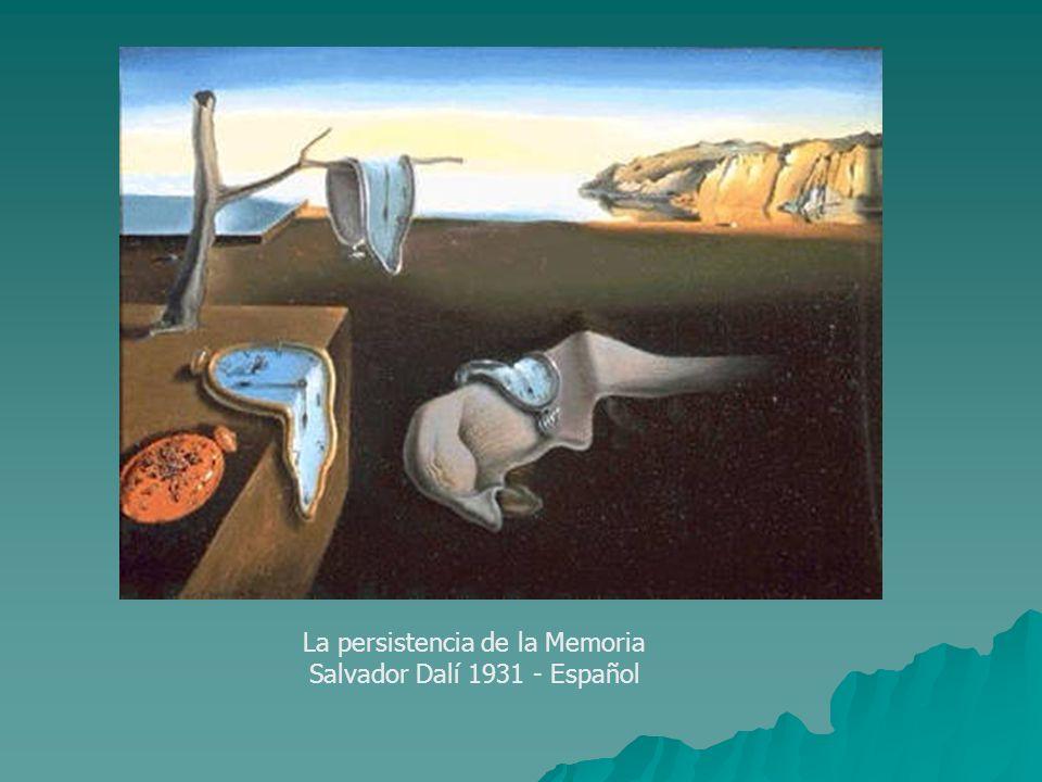 La persistencia de la Memoria Salvador Dalí 1931 - Español