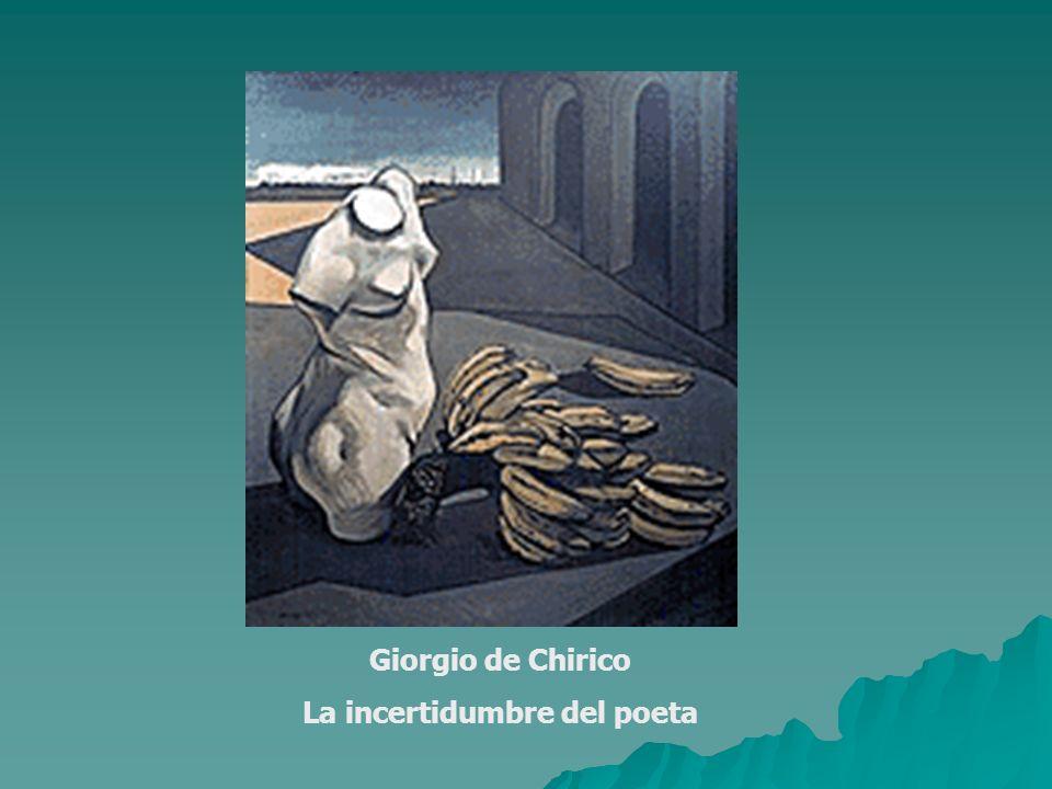 La incertidumbre del poeta