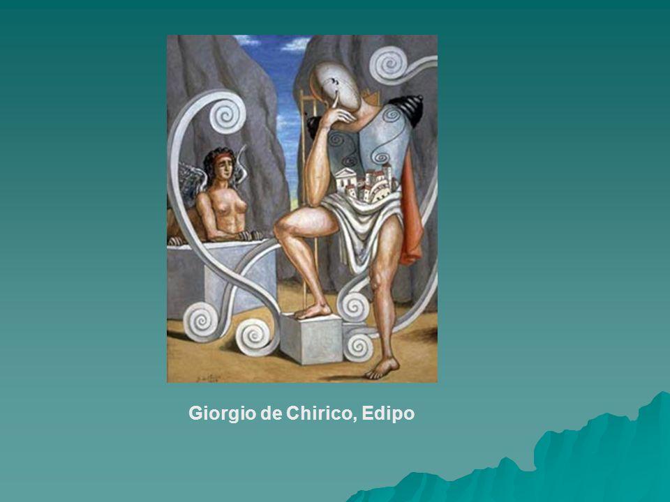 Giorgio de Chirico, Edipo